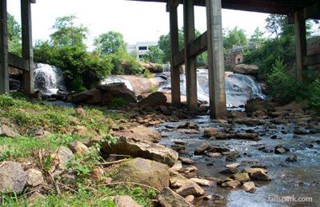 Falls park a popular greenville sc attraction for Motor mile greenville sc