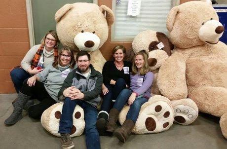 Teddy Bear Toss