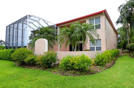 The back view of the villas at Prestancia - Sarasota, FL