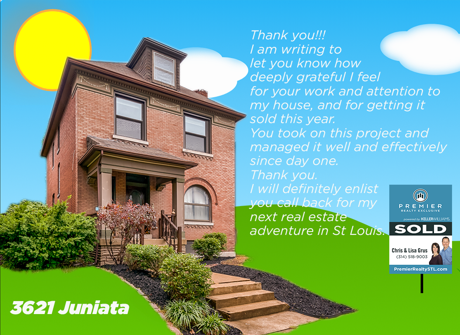 3621 Juniata sold