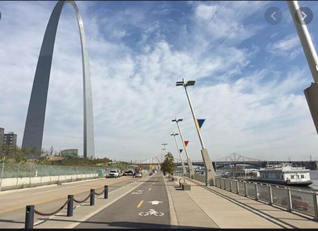 Riverfront Trail St. Louis