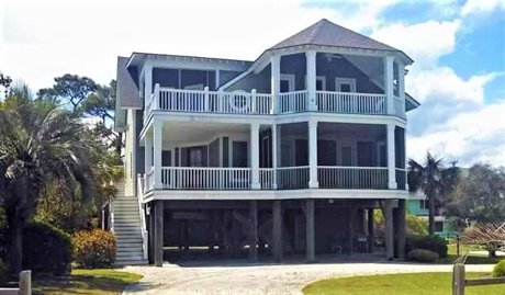 2nd Row Beach Homes For Sale in Myrtle Beach, South Carolina