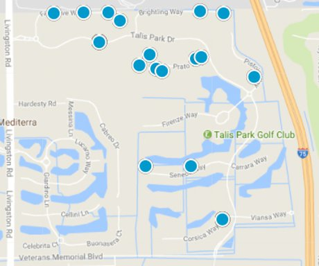 Talis Park Map Search