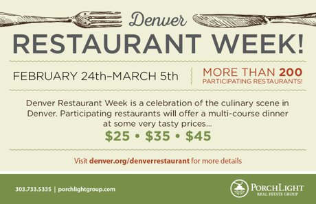 Invite Denver Resto Week