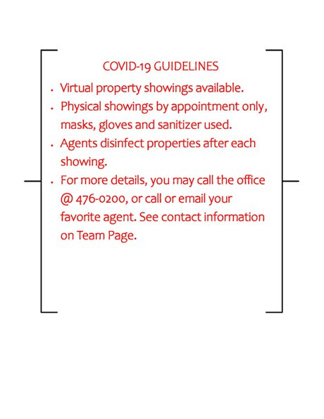 Covid-19 Basic Guidelines