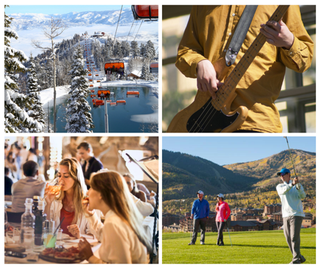 Four-Season Activities at Canyons Village