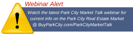 Webinar Alert for Park City Market Talk