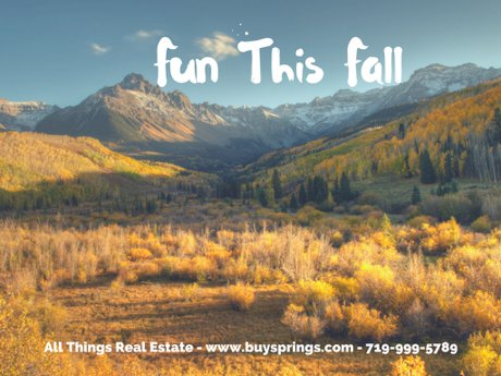 Fun This Fall In Southern Colorado