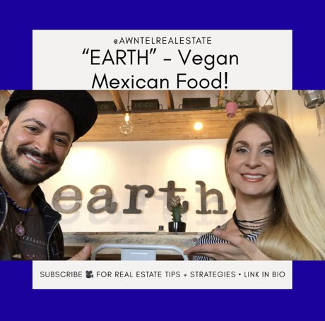 Mexican Vegan Food At Earth Plant Based Cuisine In Phoenix