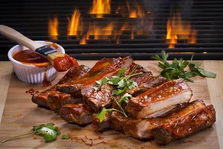 Enjoy barbeque near Grover Beach Homes