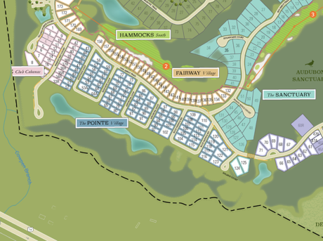 New Patio Homes Section at Compass Pointe