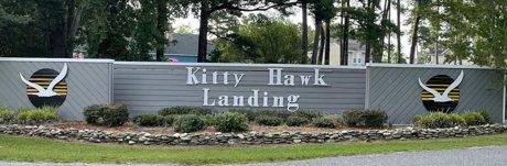 Kitty Hawk Landing Entrance