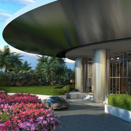 Beachfront Luxury Porsche Tower Condo