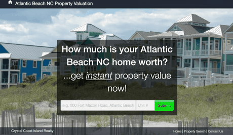 Atlantic Beach NC Oceanfront Homes For Sale- Island Realty