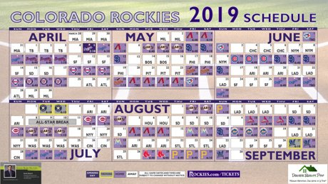 rockies schedule may 2020