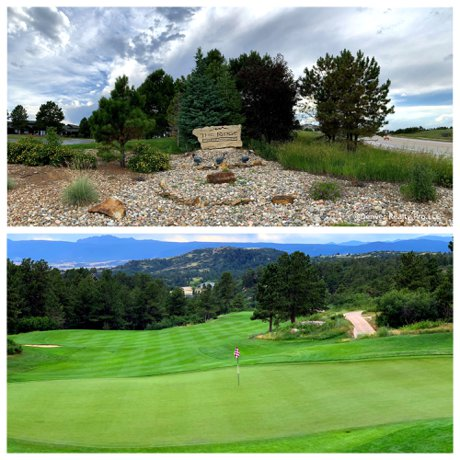 The Ridge at Castle Pines CO  Golf Course