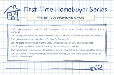 What Not To Do When Buying A Home Denver Realty Pro, LLC