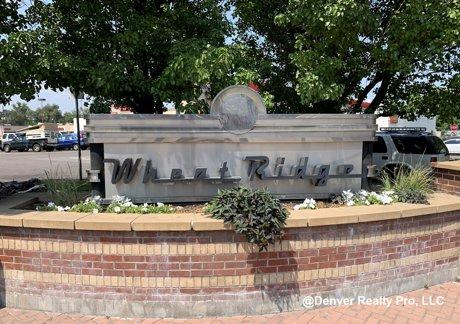 Wheat Ridge City Monument Wheat Ridge, CO