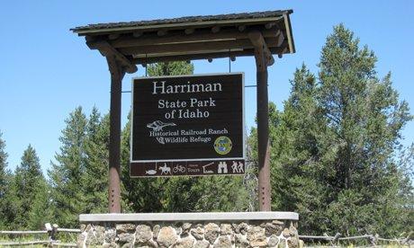 Harriman State Park near Island Park Idaho