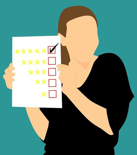 """Conceptual image of a 5 lined checklist used to illustrate, """"5 Ways To Be A Responsible Homeowner""""."""