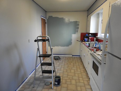 """Photograph of a kitchen being remodeled to illustrate, """"5 Home Improvement Projects That Won't Pay Off When You Sell"""""""