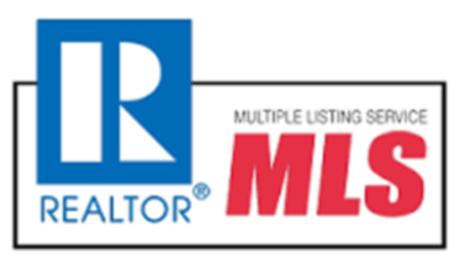Realtor logo and MLS logo.