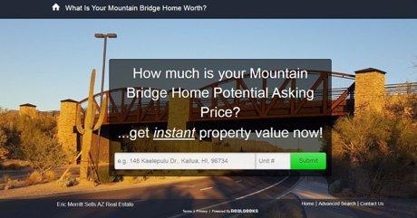 Mtn Bridge Potential Home Value