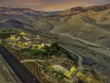 Aerial photo of 550 Via Buena Ventura Arroyo Grande CA 93420 - Fissori Real Estate Team newest listing in San Luis Obispo County.
