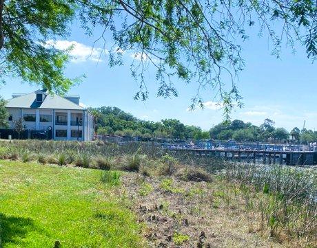 Crabby Bills and Marina at Lakefront Park in Saint Cloud Florida