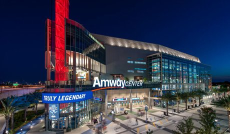Amway Arena in Downtown Orlando Florida