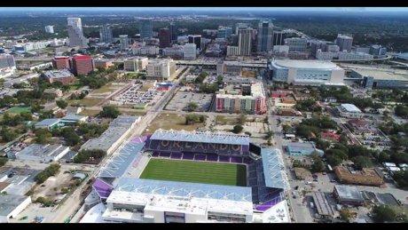 Orlando City Soccer Stadium in Downtown Orlando Florida