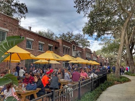Crooked Can Brewery in Winter Garden Florida