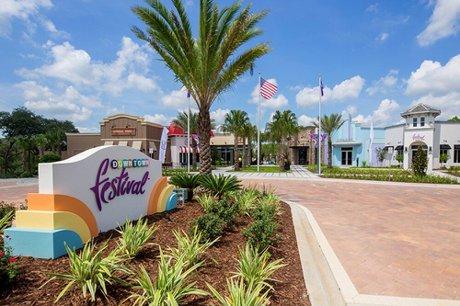 Festival Resort near Disney World