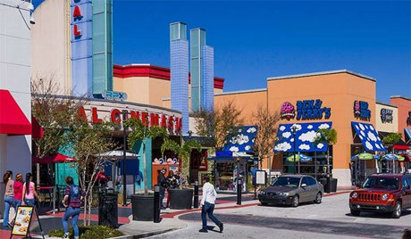 The Loop Shopping Center in Kissimmee Florida