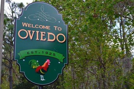 Oviedo Florida Sign