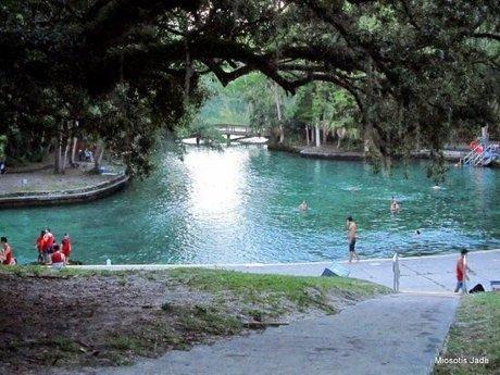 Wekiva Springs State Park in Wekiva Springs Florida