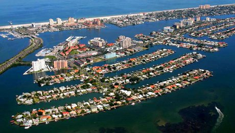 island Estates in Clearwater Florida