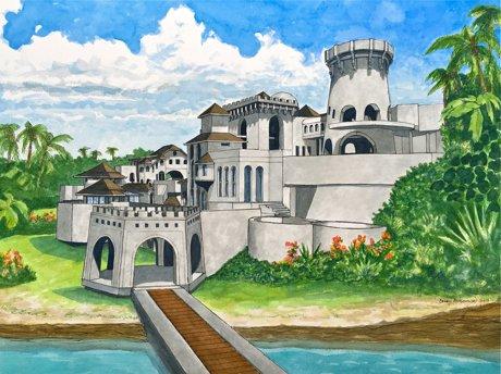 Nyah Valley Oceanfront Manor Dominica
