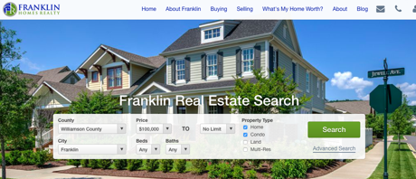 Why Use Zillow? FranklinTNHomesforSaleOnline.com is Better!