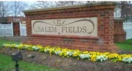 Salem Fields Community Entrance