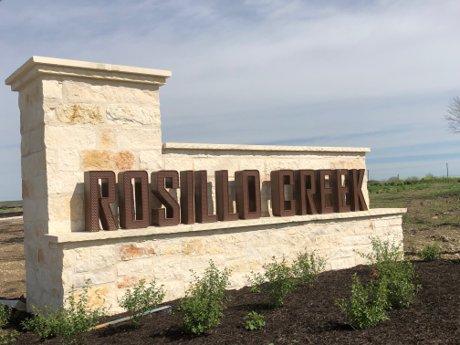 Lennar Rosillo Creek Entry Sign