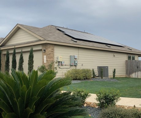 Lennar Voss Farms Solar Panels