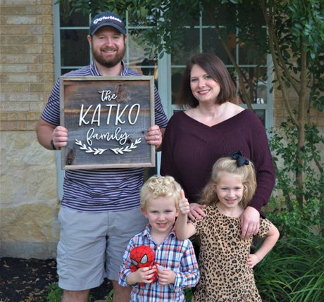 San Antonio New Home Buyer Katko Family