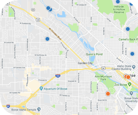 Garden City Idaho Home Map Search