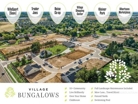 village bungalows meridian idaho 55+