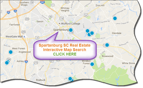 Spartanburg SC Real Estate And Homes For Sale - Spartanburg county south carolina on us map