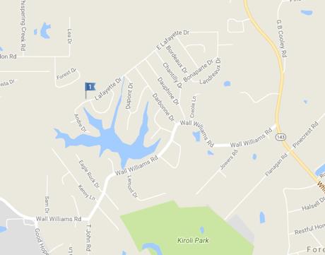 D'Arbonne Hills Subdivision In West Monroe LA