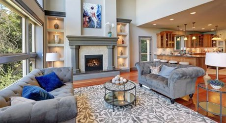 Upscale Living Room photo