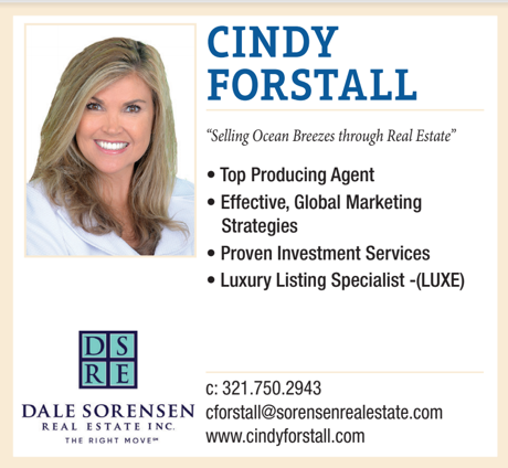 Cindy Forstall Sells The Space Coast