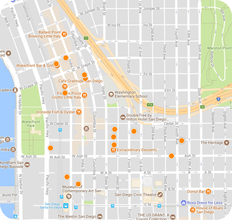 little italy map search